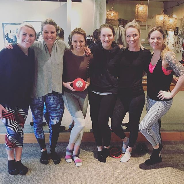 Part of the Zephyr instructor team got to take a stellar class at @purebarrebozeman tonight! Thanks, Amy!! #hurtssogood