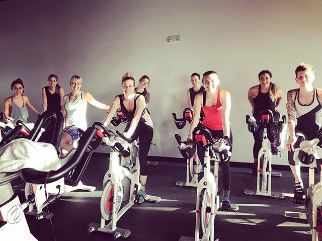 We had the opportunity break in the studio with a group of Bozeman rockstars recently. Such an honor to share Zephyr with a team of women who inspire us to be stronger daily. Thank you for an amazing first ride, @purebarrebozeman!!