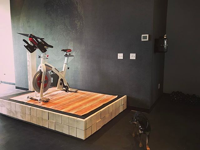 And with the completion of our beautiful instructor podium & music stand, we are ready. Have you booked your bike for this weekend yet?! They're free & going quickly! In fact, we added a few more classes to the schedule so as many of you can get your Zephyr on as possible before we officially open on Monday! Link to sign up in bio.
