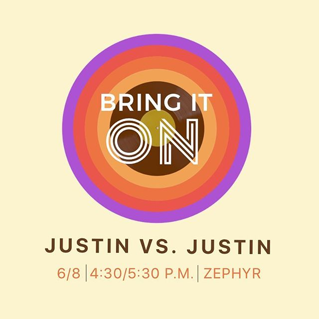 Team Timberlake or Team Bieber? Come ride and represent tomorrow afternoon at 4:30 or 5:30 with Cackie. Regardless of your Justin allegiance, this is one playlist you won't want to miss!