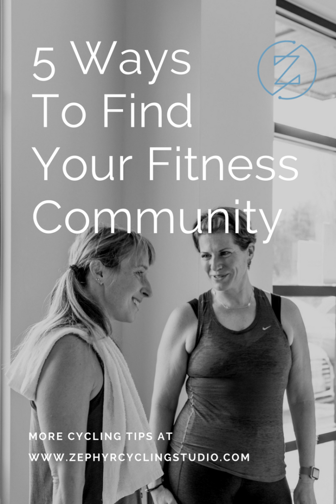 how to find your fitness community