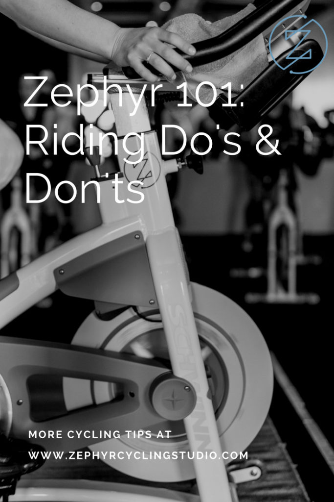 Indoor Cycling Do's and Don'ts