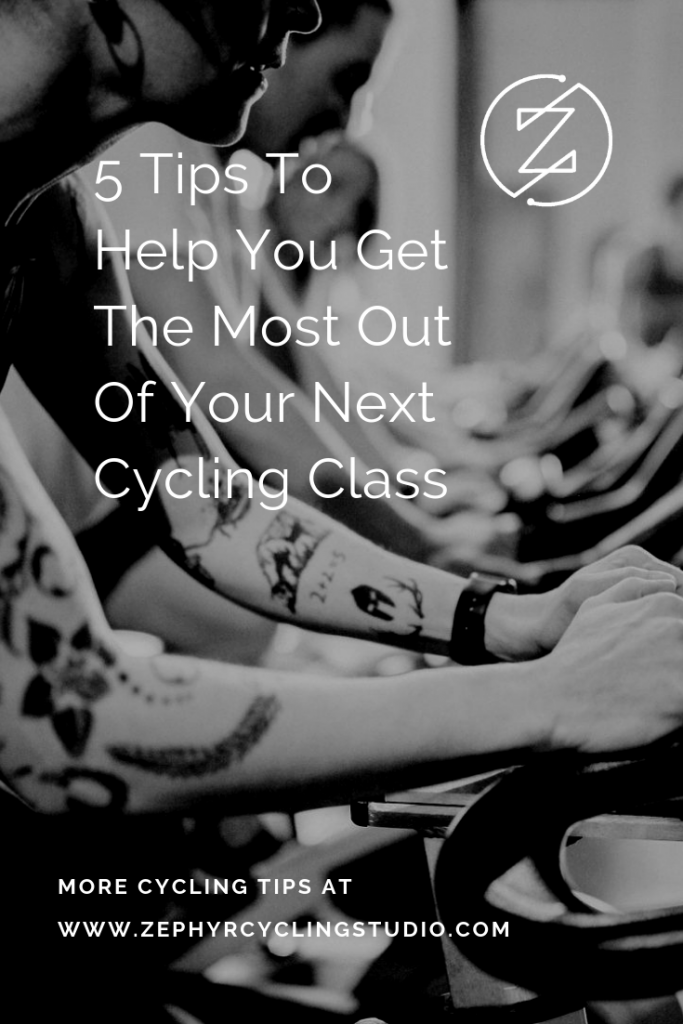 How to Get The Most Out of Your Cycling Class