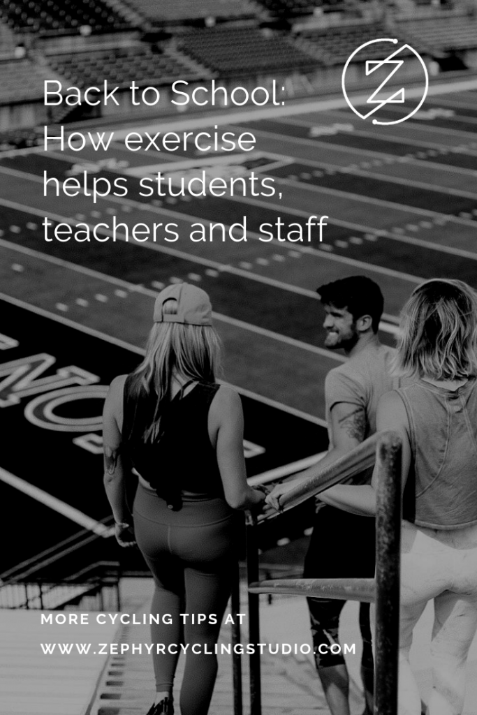 how exercise helps college students head back to school