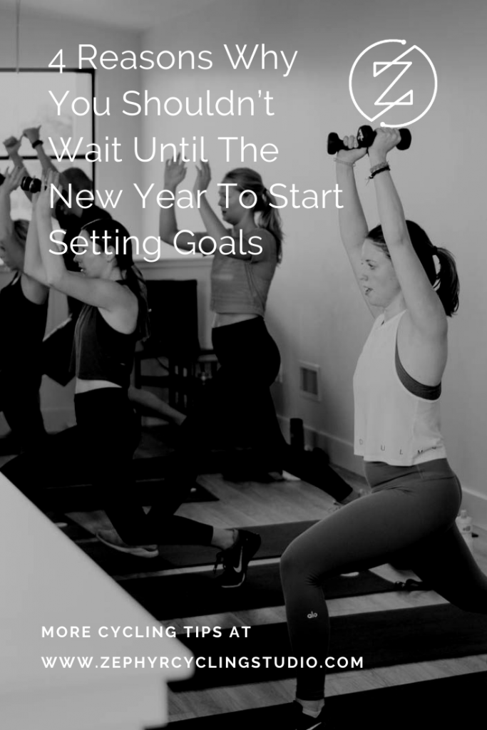 why you should start setting goals now
